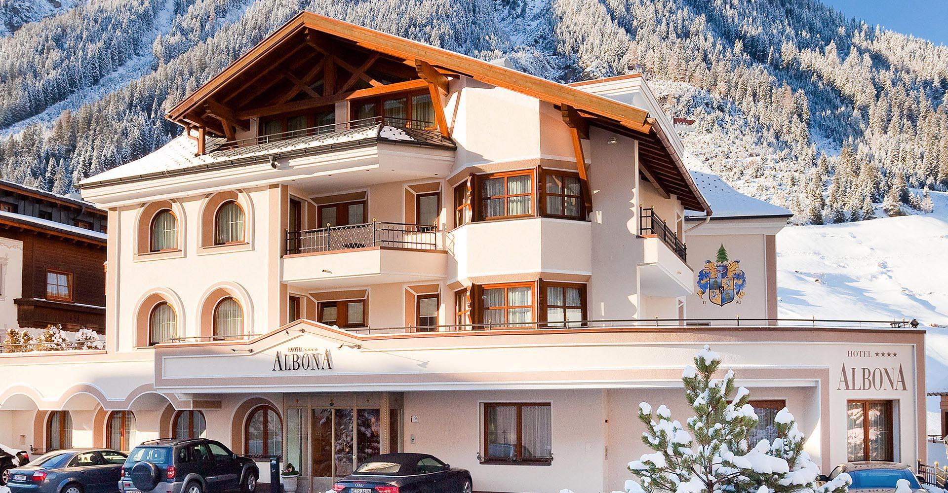 4 Sterne Hotel Albona Ischgl - Ansicht