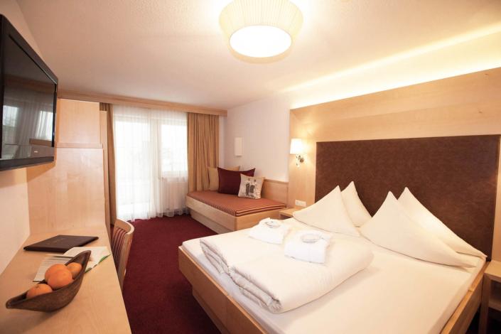 4 Sterne Hotel Albona Ischgl - Standard Doppelzimmer