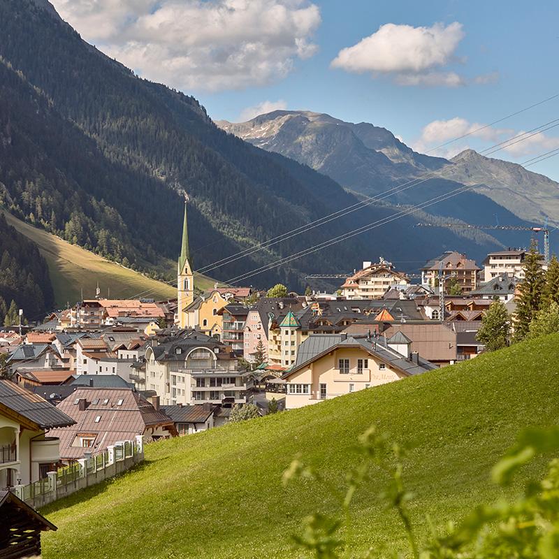 4 Sterne Hotel Albona Ischgl - Webcam